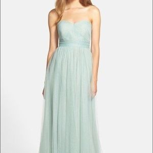 Jenny Yoo Tulle Annabelle Dress in Seaglass